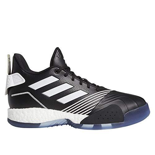 adidas Performance T-Mac Millennium - Zapatillas de baloncesto para hombre, color negro y blanco, 12.5 UK - 48 EU - 13 US