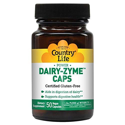 Country Life Dairy-Zyme, 50-Count