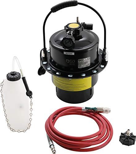 BGS 8315 | Druckluft-Bremsenentlüfter | Bremsenentlüftungsgerät | Entlüftungsgerät | Bremsflüssigkeit | 5L