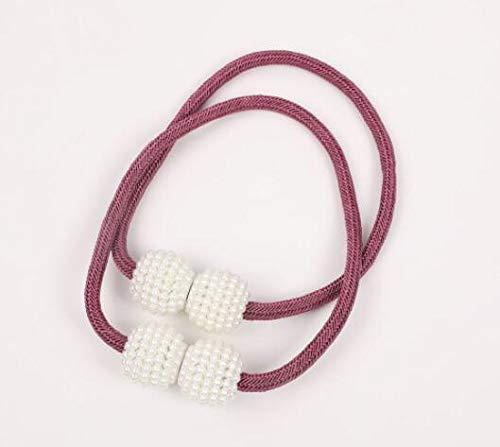 Megachest 2 alzapaños magnéticos para cortina de perlas, 15 colores (puro)