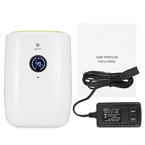 Garosa Deumidificatore Elettrico 800ML Mini deumidificatore Portatile Compatto Auto-off per Home Office Cucina Camera da Letto Cantina Assorbimento di umidità(EU Plug)