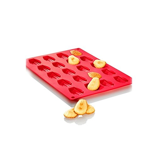 Romote Madeleine Kuchen Zinn-Kuchen-Form-Behälter-Silikon Non Stick 20-Loch Bakeware Werkzeug