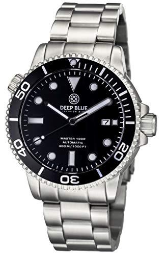 Master 1000 Automatic Diver -All Black Bracelet