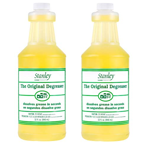 STANLEY HOME PRODUCTS Original Degreaser – Removes Stubborn Grease & Grime – Powerful Multipurpose Cleaning Solution for Home & Commercial Use (2 Pack)