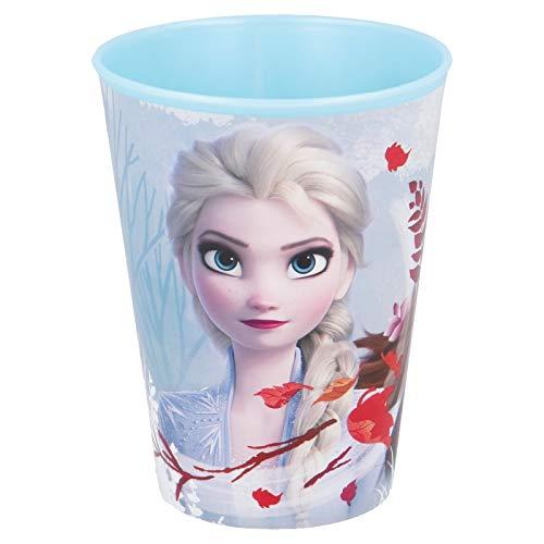 Juego de 3 vasos y 3 platos de plástico (Frozen)