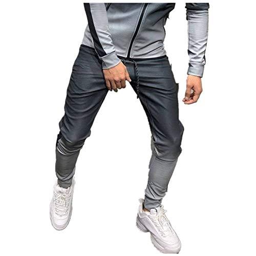 Celucke Jogginghose Herren | Herbst Winter Freizeithosen | Männer Trainingshose Slim Fit | Mode Jogger Sweatpants