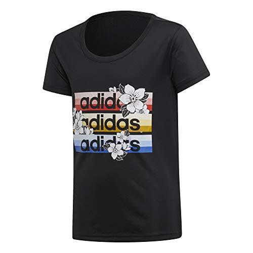 adidas Performance X Farm T-Shirt Kinder schwarz/bunt, 116