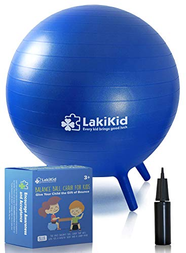 LakiKid Balance Ball Chairs for Kids Flexible Seating Classroom Furniture- Stability Ball Chairs...