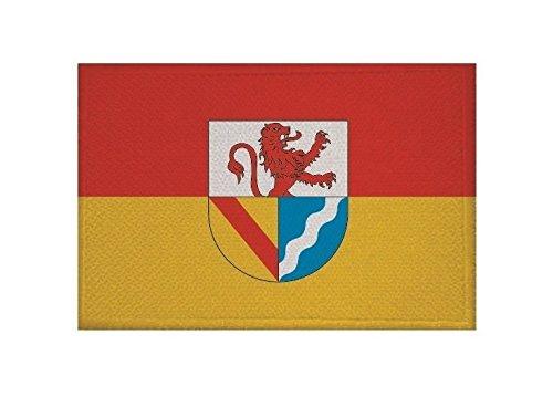 U24 Aufnäher Landkreis Lörrach Fahne Flagge Aufbügler Patch 9 x 6 cm