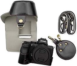 Nikon Z50 Case, kinokoo Camera Bag PU Leather Case for...