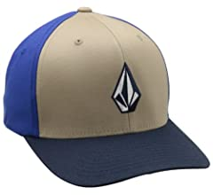 Volcom Full Stone Flexfit - Gorra elástica - Azul - Small/Medium ...