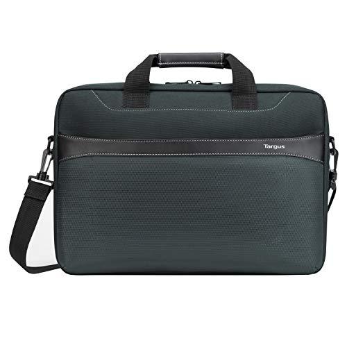 """Targus sacoche Geolite Essential, Sac pour ordinateur portable jusqu'à 17.3"""" pouces avec compartiment dédié, sac à bandoulière au design fin et léger – Océan, TSS99101GL"""