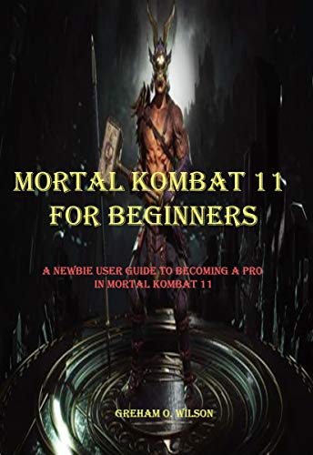 MORTAL KOMBAT 11 FOR BEGINNERS: A NEWBIE GUIDE TO BECOMING A PRO IN MORTAL KOMBAT 11 (English Edition)