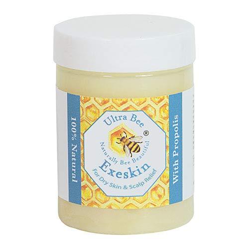 Ultra Bee 100% Natürliche Exeskin -Haut- Und Kopfhautcreme, 100 ml