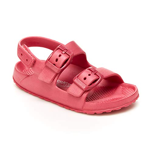 OshKosh B'Gosh Girls Rivar Sport Sandal, Pink, 9 Toddler