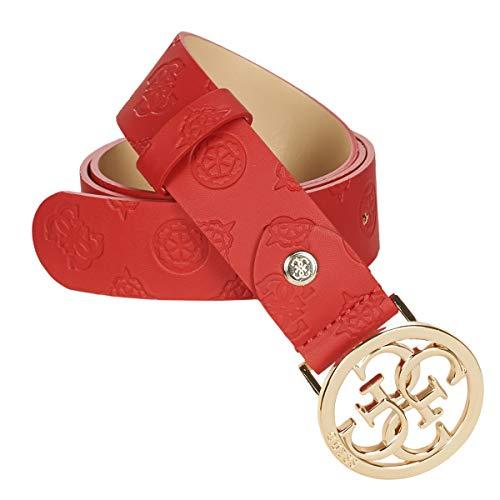 Guess ILENIA Adjustable Pant Belt Accessori Tessile Femmes Rosso - EU M - Cinture