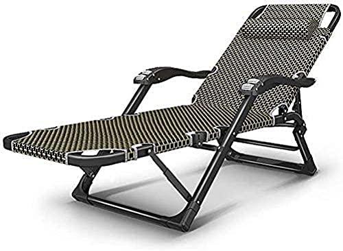 Tumbona reclinable para exteriores, silla de gravedad, silla de jardín, ligera, extra ancha, tumbona, tumbona, tumbona