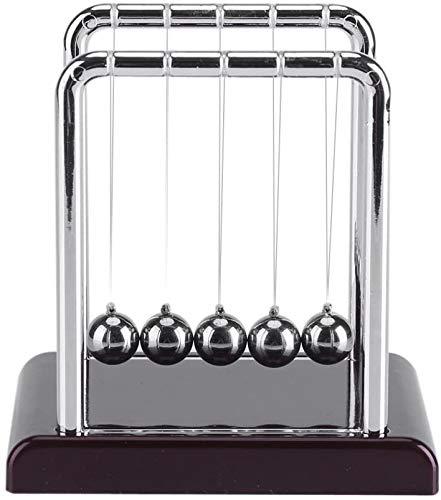 Eastbuy Bolas de péndulo - Gadgets para Entretenimiento de Escritorio, Balanza magnética de balanceo de Acero, Física, Ciencia, Juguete Divertido de Escritorio