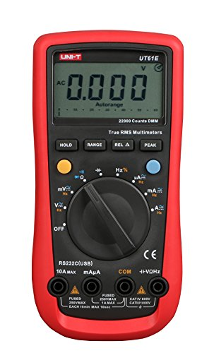 UNI-T UT61E Multímetro digital PC Connect AC DC Voltage Meter Data Hold