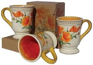 SF California State Flower Poppy Coffee Mug