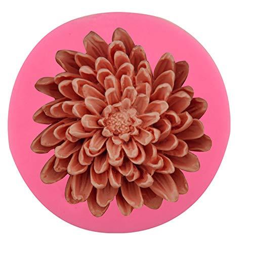 Fablcrew - Molde de Silicona Antiadherente para Tartas con Forma de Margarita,...