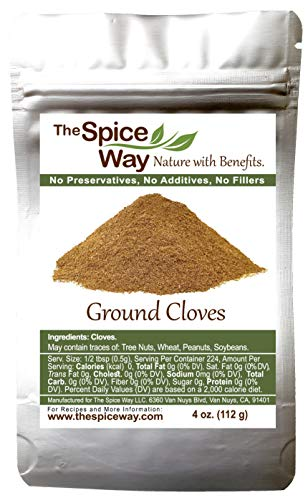 Spice Way Cloves - ground | 4 oz