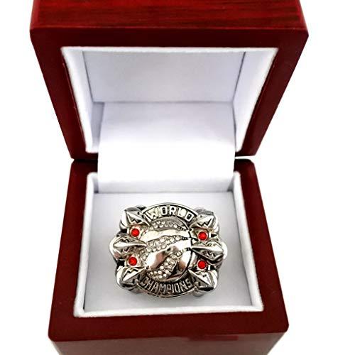 GEI 2019 Raptors Ring Basketball Champions Rings Colección Souvenirs Fans Accesorios Conmemorativos 10