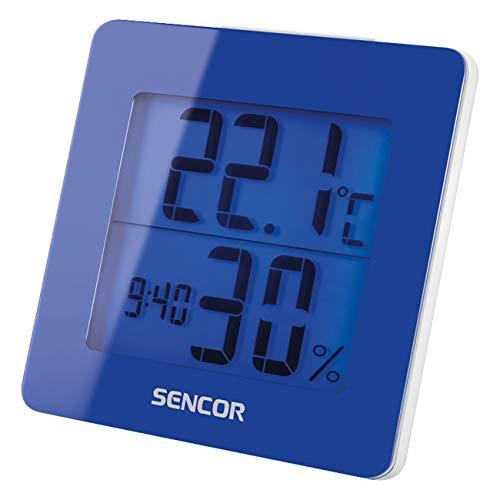 Sencor SWS 1500 BU Batería Azul - Estación meteorológica (LCD, Batería, AA, Azul, 93 mm, 94 mm)