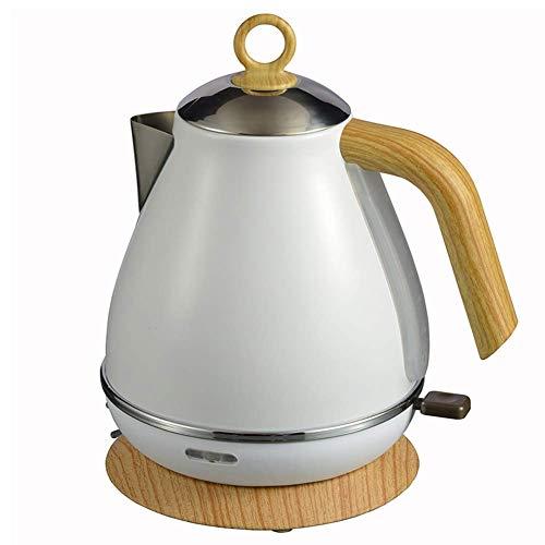GYC Home Wasserkocher aus Edelstahl, Krug 1,8 Liter, schnell kochend und leicht zu reinigen, ideal für heißes Wasser, Tee oder Kaffee - 1850W