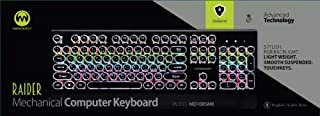 كيبورد لوحة مفاتيح سلكي مضيئ 1003 Led Keyboard Usb Microdigit model 1003