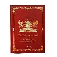 メモ帳 ヨーロピアンスタイルのシックなレトロマジックブックノートブックステーショナリートランペットB5シッククリエイティブポータブルノートブックダイアリートラベラーズノートブック ノート (Color : Wine red)