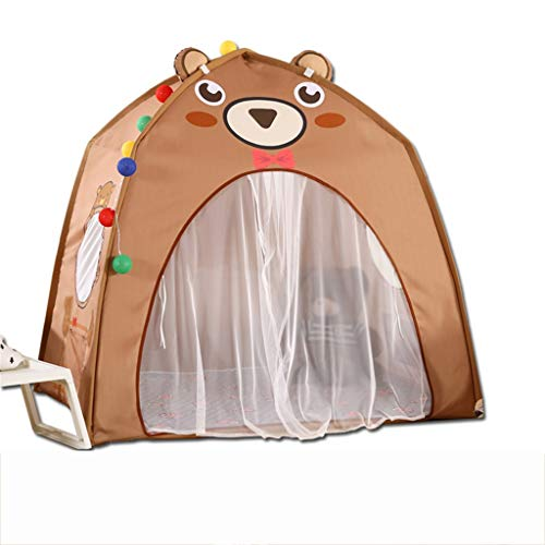 CSQ House Tents,Indoor Play House Toy Room Tent Kindergarten Girl Tent/Boy Tent Indoor Playground Tent Installation Tent Children's play house (Color : B, Size : 130 * 100 * 130CM)