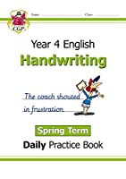 New KS2 Handwriting Daily Practice Book: Year 4 - Spring Term