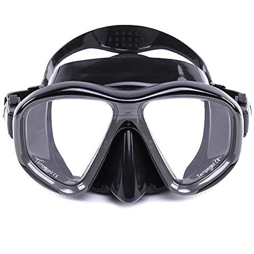 Roeam Gafas de Buceo máscara natación Buceo Vidrio Snorkeling Vidrio Templado Templado