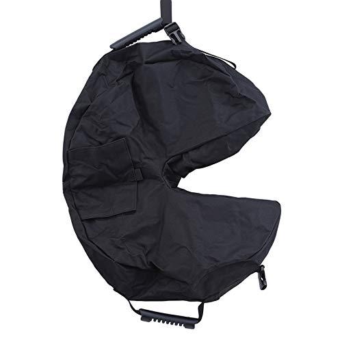 HBWHY Patio al aire libre paraguas base peso bolsa grande apertura redonda sandbag sombrilla paraguas resistente arena bolsas soporte base