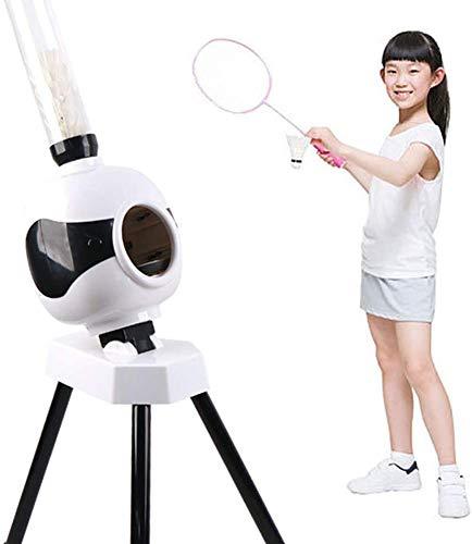 J & J Badminton Ausrüstung Einfache Installation Praxis Maschine Portable justierbarer Winkel für Badminton Anfänger, Sport im Freien, Kinder, Spielzeug