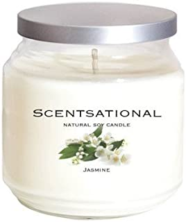 Scentsational Candles Jasmine Jar Candle
