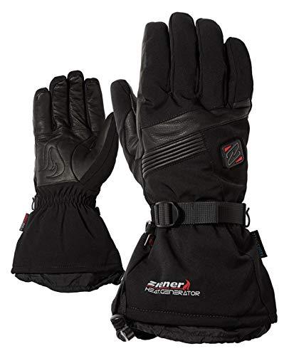 Ziener Herren GERMO AS(R) PR HOT ski Alpine Handschuhe, Black, 9,5