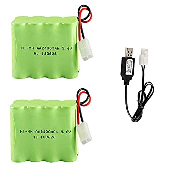 9 6 v rechargable battery