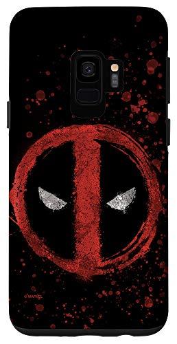 Galaxy S9 Marvel Deadpool Wade Wilson Icon Case