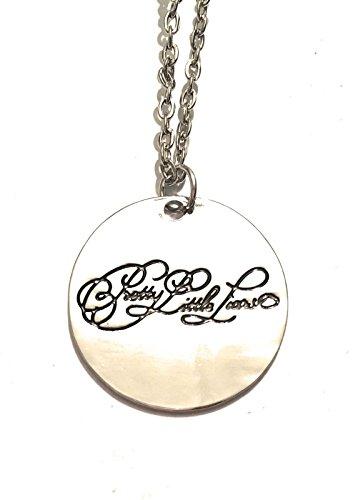 Giulyscreations - Collar de metal de níquel con texto en inglés 'Free Pretty Little Liars PLL', diseño de Bugiarda
