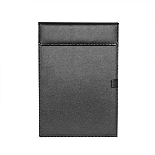 クリップボード a4/a5 クリップファイル ファイルボード レポート用紙入れ 書類入れ 資料 ボード ペンホルダー付き 会議室 デスクワーク 下敷きボード 多機能 高品質 PUレザー オフィス 事務用品 ホテル レストラン 多用途 文具 ブラック a4ク