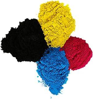 1 Juego de 4 Paquetes de 1 kg/Bolsa de Recambio para impresoras de tóner láser Ricoh Aficio MP 5500 6500 7500 6000 7000 8000 (1 Negro, 1 Cian, 1 Magenta y 1 Amarillo)