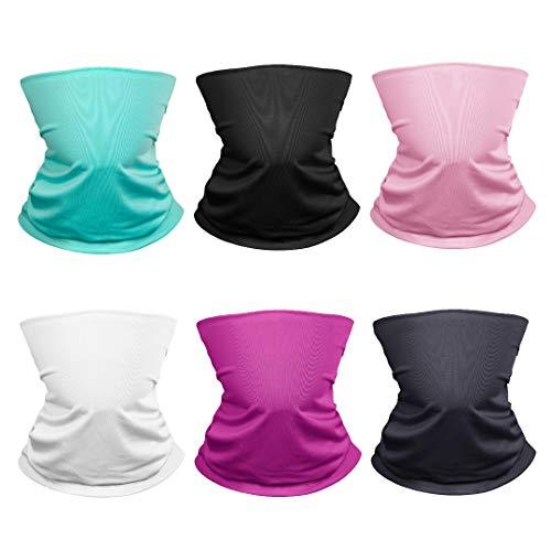 qualidyne UV Protection Face Mask Bandana Balaclavas Magic Scarf Neck Gaiter