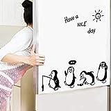 TAOtTAO Haben Sie einen schönen Tag niedlichen Pinguin Aufkleber Kühlschrank