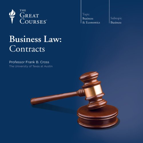 Business Law: Contracts audiobook cover art