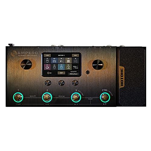 Hotone Ampero MP-100 Guitar Bass Amp Modeling IR Cabinets Simulation Multi Language...