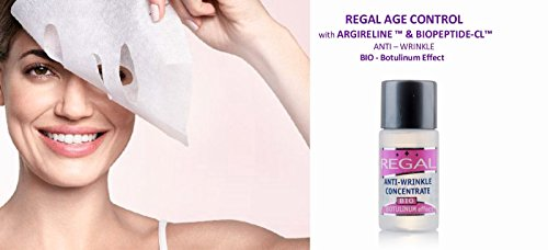 Marque REGAL Age Control - Lifting Bio masque à effet combleur de rides «REGAL Age Control» 4 x 13 ml