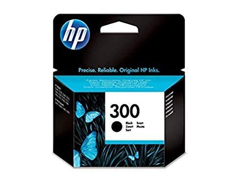 HP 300 CC640EE, Cartucho Original de Tinta Negro ,