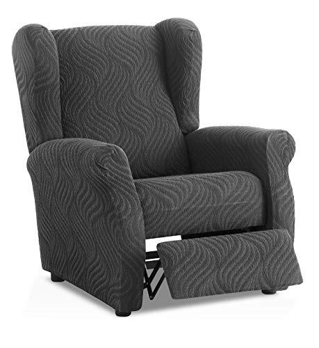 Funda de sillón Relax elástica Aitana - Color Gris - Tamaño estandar (Contáctanos para Mayor información)